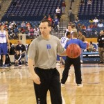 Duke Assistant Chris Collins  BDN Photo