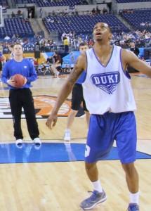 Lance Thomas and Duke to take on West Virginia