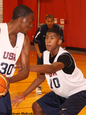 LJ Rose - photo courtesy of USA Basketball.com