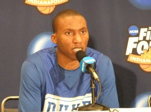 Nolan Smith on fire
