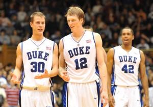 Singler leads Duke versus Butler