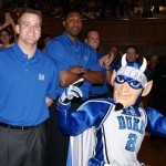 The Blue Devil Nation coverd Countdown to Craziness to start the basketball season off the season and ended the ride by bringing you timely interviews from players and coaches through the entire NCAA Tournament.  Be it the Awards Banquet, the N.C. Pro Am or the many AAU events, BDN is always front and center to bring you firsthand observations.  Premium members enjoy some of the most accurate and timely information around and we enjoy it every step of the way with the exceptions of rumors;)  Thanks for being a part of the Blue Devil Natiop and pleaase continue to visit our site.  BDN Photo from Countdown to Craziness which ended in a national championship.  BDN Photo