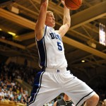 Mason throws one down againts Wake Forest in Cameron where Duke was 17-0 duiring their magical run to the national championship.  Photo courtesy of my pal, Lance King
