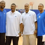A bunch of Devils - Elton Brand, Nate James, Ricky Price and Chris Carrawell