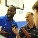 Elton Brand returns to Duke - BDN Photo, Rick Crank