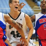 Marshall Plumlee is relieved to be a Blue Devil - All photos, copyright BDN Photo
