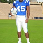 Duke LB Austin Gamble will see more time this season. copyright  BDN Photo