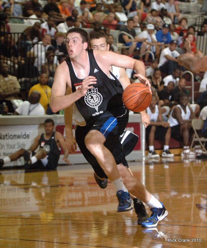 Ryan Kelly scored 22 points to help his team advance in the N.C. Pro Am playoffs on Firday evening - Phto Rick Crank/BDN