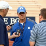 Coach Cutcliffe pleased with progress during scrimmage