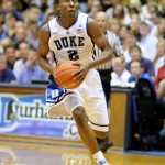 Nolan Smith drives the lane - Rick Crank/BDN Photo
