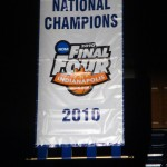 Duke is set to hang a new banner in Cameron!  BDN Photo