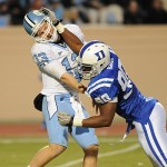 Game Recap – Duke falls short to UNC 24-19