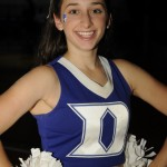 Here's another Monday Musings Cheeleader of the Week pic!