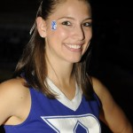 Our cheerleader of the week share a smile for you this Monday morning.  BDN salutes the team behind the team be it the cheerleaders, mascot or those who contribute their efffort to supoort Duke Athletics - BDN Photo