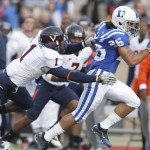 Coach Cutcliffe has senior Donovan Varner and the Blue Devils expecting to win in 2011-GoDuke, Duke Photography