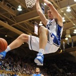 Miles rams one home in Duke's 84-47 win over St. Louis pushing their record to 10-0 for the season.  Photo Lance King of Lance Images for BDN