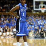 Duke standout Kyrie Irving makes his New Jersey return