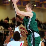 Christ School and Marshall Plumlee stroll past Brandon, MS 70-46