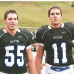 Duke hopes that Kelby (left) and Kyler (right) Brown will anchor the 2011 linebackers
