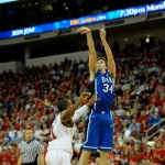 Kelly has been on a tear of late in the Blue Devils road wins over N.C. State and Wake Forest - Photo courtesy of Mike Bradely