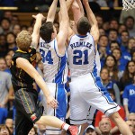 The Blue Devil Bigs will need to rebound against a tough FSU team on the road.  LKI Images