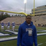 M.J. Salahuddin visited Duke last fall for a game