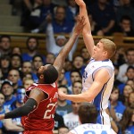 Mason Plumlee has a double-double to help Duke to victory