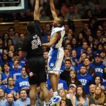 Nolan Smith throws up a one hander v. Temple - Rick Crank Photo
