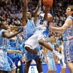 NCAA BASKETBALL: FEB 09 North Carolina at Duke