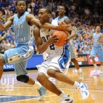 Sir Nolan Smith drvies the ball - Lance King Images