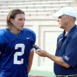 Duke Star WR Conner Vernon talks spring practice
