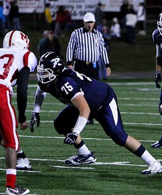 Richlands OL Josh Hess is receiving a lot of interest from ACC and SEC schools