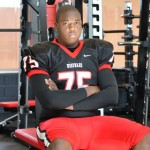 Woodward Academy's Jordan Watkins is a highly coveted DE prospect