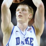 Kyle Singler knocked down 9 of 9 free throws in the Blue Devils 87-71 win over Maryland - Rick Crank Photo for BDN