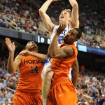 Kyle Singler vs VT - Lance King Images