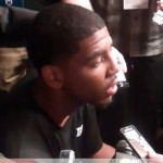 Kyrie Irving practicing and set to play – video interviews