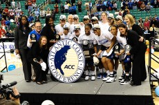 2011 ACC Champions - Duke Blue Devils, photo Lance King for BDN