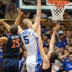 Duke plays good 2nd half defense to rip UNC-Greensboro – Mason Plumlee interview