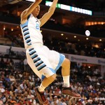 Rivers throws down a dunk during the Jordan-Brand All Star Game - Photo, Lance King of Lance Images for BDN