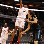 Andrew Wiggins is hot on the recruiting trail - BDN Photo by Lance King Images