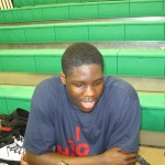Anthony Bennett enjoyed the attantion during the Nike EYBL Session I - BDN Photo