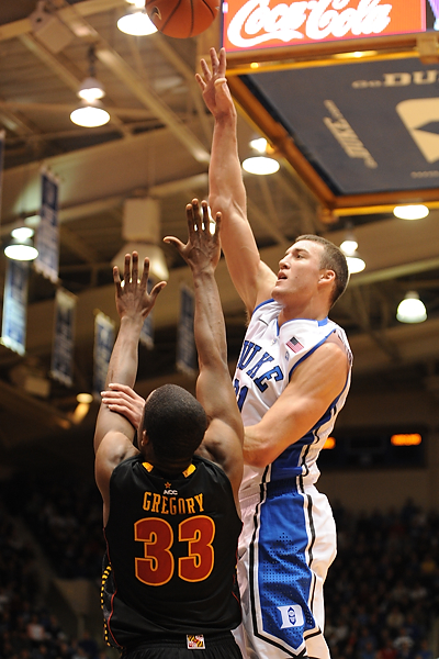 Miles Plumlee is the only Duke senior in 2011 - LKI