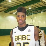 "Nerlens Noel - ""Don't drive on me.""  BDN Photo  Check out our latest interview as BDN Premium continues to roll out information"