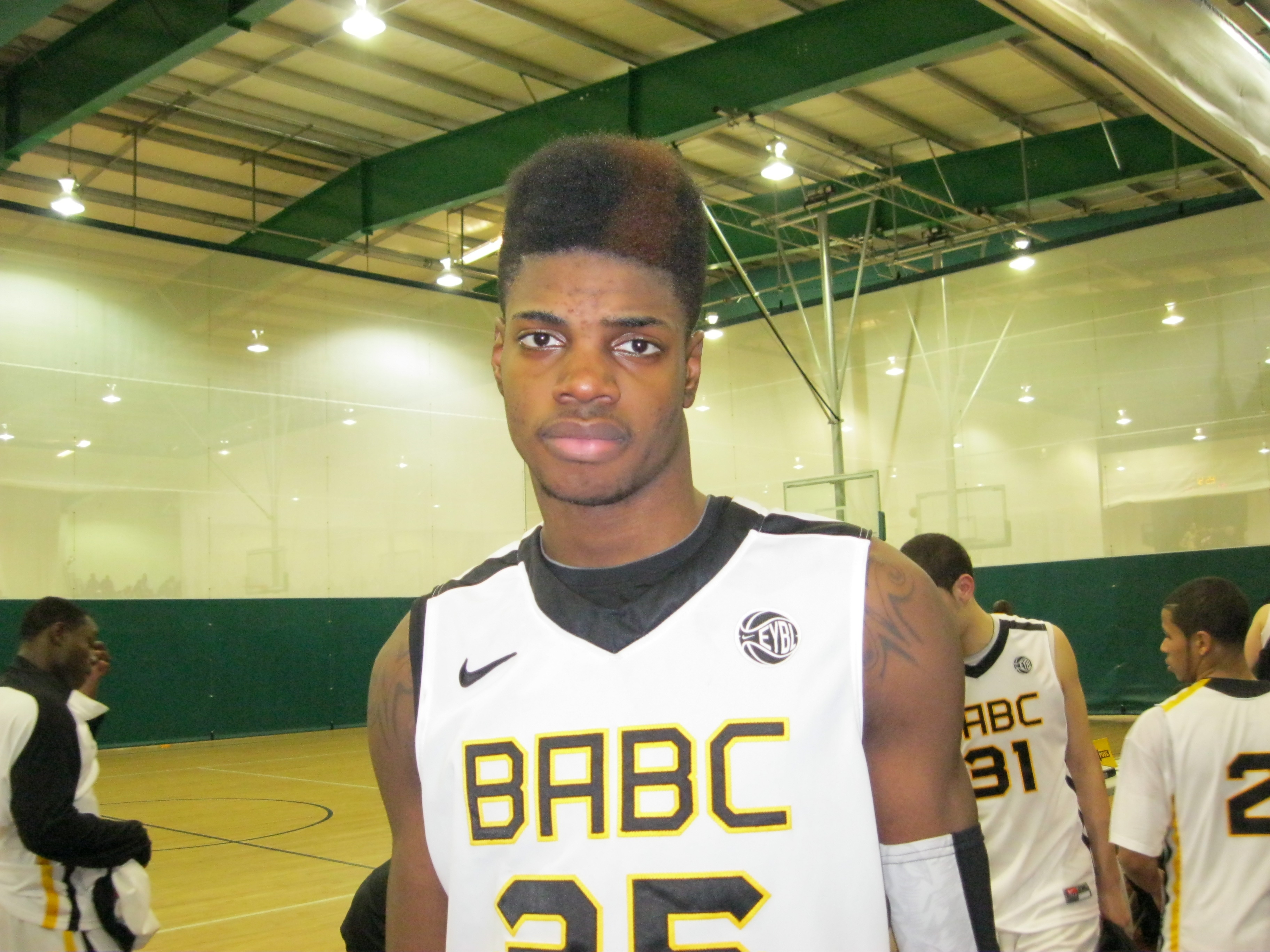 "NERLENS NOEL - ""Dont drive on me."" BDN Photo Check out our latest ..."