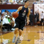 Austin Rivers at the N.C. Prom Am - Photo by Rick Crank for Blue Devil Nation