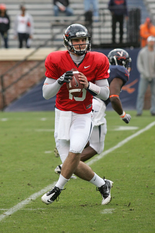 Sophomore Michael Rocco appears to be the front-runner for the UVA QB job -TheSabre.com