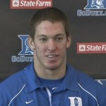 Duke LB Kelby Brown spoke with BDN at Duke Football's Media Day