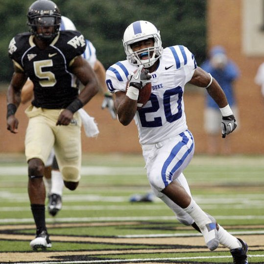 Senior Lee Butler is Duke's leading punt returner in 2011