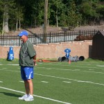 Duke Offensive Coordinator Kurt Roper discusses start of training camp