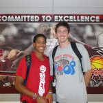 Duke's Andre Dawkins and Ryan Kelly, Photo by Mark Watson